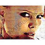 JR Bouvier Charlize Theron Actress Large Art Print Poster