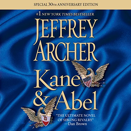 Kane and Abel audiobook cover art