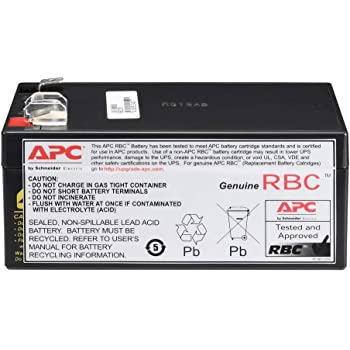 - Fresh Stock Compatible Replacement Battery Clear APC Back-UPS Pro 500 LS BP500CLR