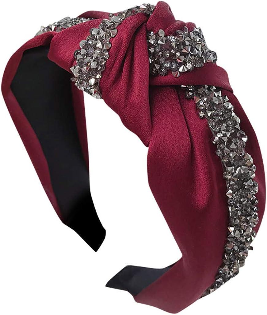 Arystk Women Girls Hairband Fashion Bow Knot Head Hoop Simple Sweet Headband