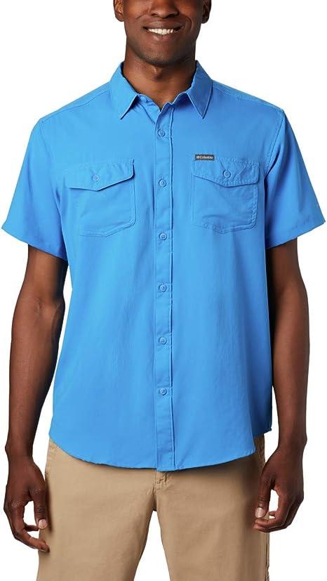 Columbia Utilizer II, Camisa lisa de manga corta, Hombre