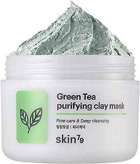 Skin79 - Green Tea Clay Mask, Mascarilla Limpiadora, 95ml