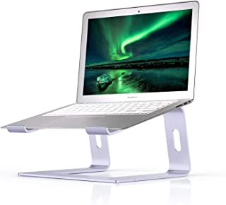 Laptop Stand Compatible for MacBook Pro/Air, Boyata Aluminum Stand Holder Ergonomic Ventilated Desktop Stand Compatible fo...