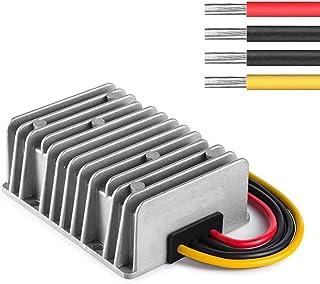 ZHITING Regulador del convertidor de Potencia de CC Impermeable, DC/DC 48V / 36V Paso a DC 12V 20A 240W Transformador de F...