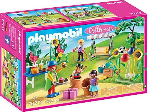 Playmobil 70212 Dollhouse Kindergeburtstag mit Clown, ab 4 Jahren, bunt, one Size