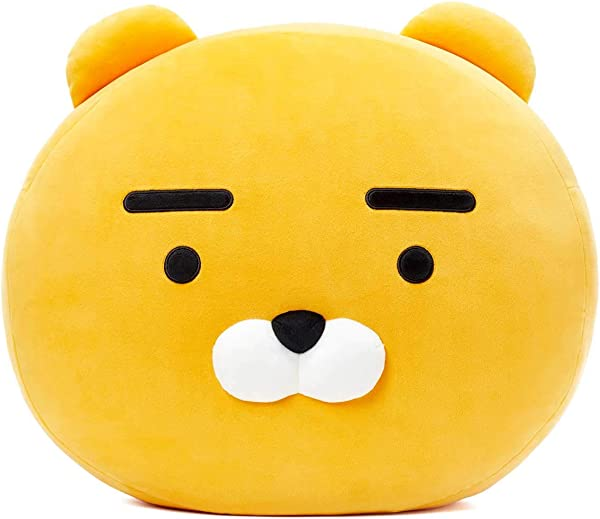 KAKAO FRIENDS Official Face Mochi Pillow Cushion Ryan
