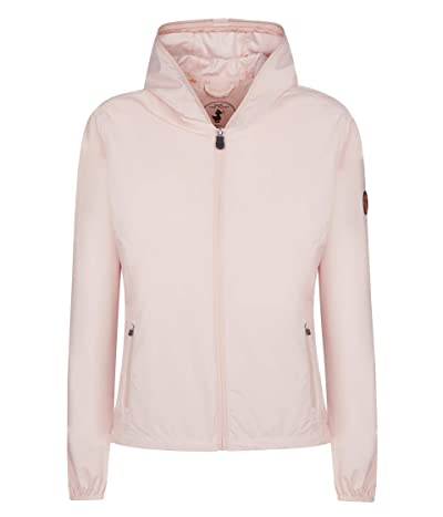 Save the Duck Maty X Hooded Jacket (Powder Pink) Women