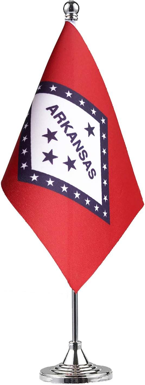 Ranking TOP16 GentleGirl.USA Arkansas State Flag Mini AR Small Award-winning store