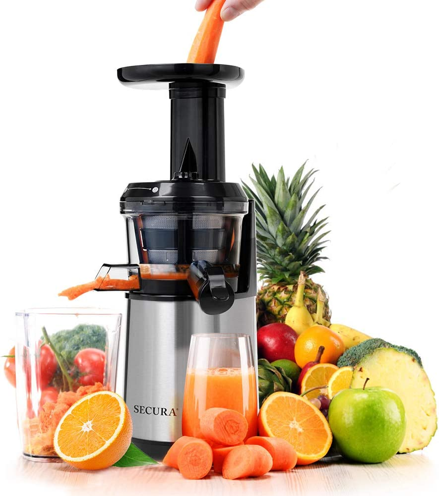 Secura In a Special sale item popularity Slow Juicer Masticating Big Press Cold Mouth' Juic