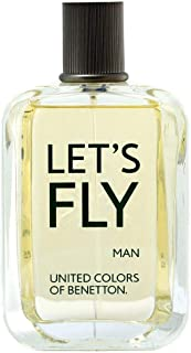 Let'S Fly by Benetton for Men Eau de Toilette 100ml