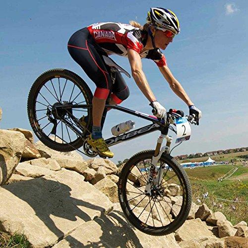 Damen Fahrradhose Radlerhose Mit Coolmax Sitzpolster Damen Radhose 3/4 Komfort Slim Fit - 6