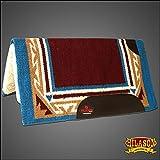 HILASON Horse Western Saddle Blanket Gel Pad Made in USA Wool New Zealand