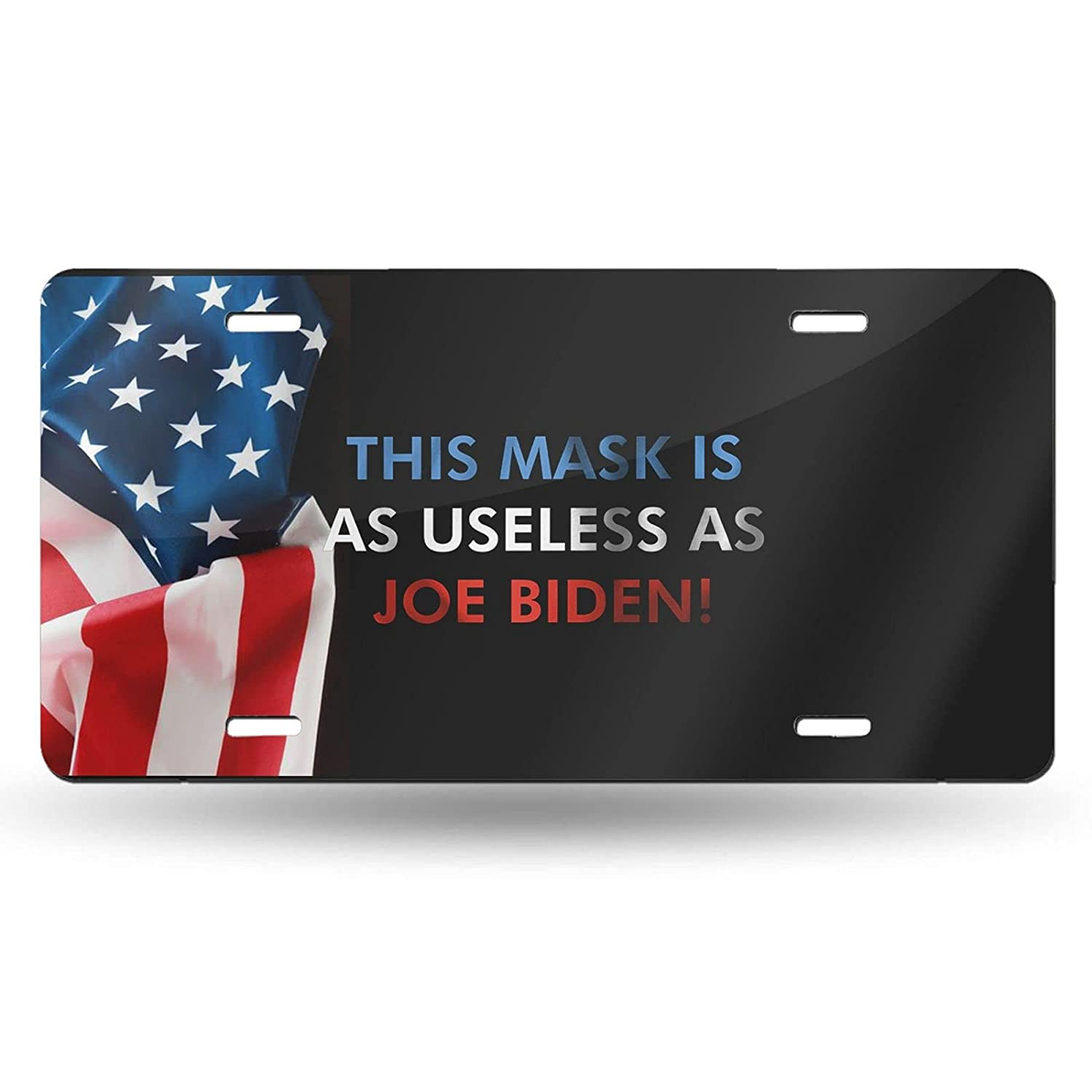 This Mask Popular brand in the world is As Useless Biden Joe Plate License Personalized Baltimore Mall