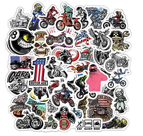50 Aufkleber Sticker Motorrad Biker Motocross Motorrad