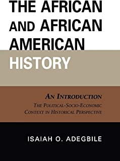 The African and African American History: An Introduction