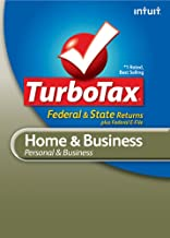 TurboTax Home & Business Federal + e-File + State 2010 for Mac [Download] [OLD VERSION]