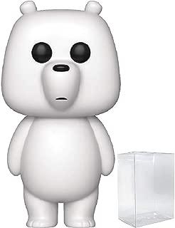 Funko Animation: We Bare Bears - Ice Bear Pop! Vinyl Figure (Includes Compatible Pop Box Protector Case)