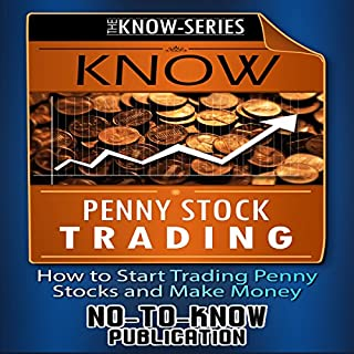 Know Penny Stock Trading audiobook cover art