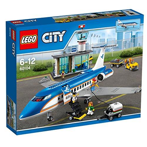 LEGO City 60104 - Flughafen-Abfertigungshalle, Kreatives Spielzeug