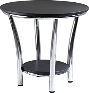 Winsome Wood 93219 Maya Occasional Table, Black/Metal