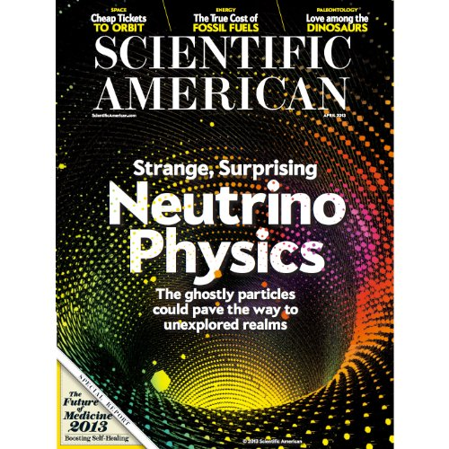 Scientific American, April 2013 cover art