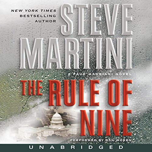 The Rule of Nine audiobook cover art