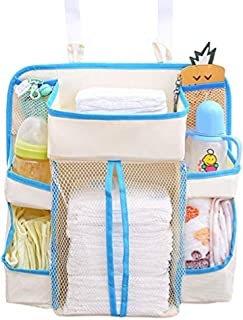 Jenny Ben Diaper storage bag crib storage bag nursery storage bag multi-function bed hanging bag