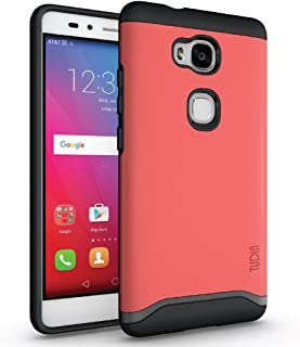 Huawei Honor 5X Case, TUDIA Slim-Fit Merge Dual Layer Protective Case for Huawei Honor 5X (Rose)