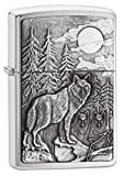 "Personalized Free Laser Engraving Custom Message Engrave up to 5 lines. Genuine Zippo windproof lighter with distinctive Zippo ""click"" Made in USA; lifetime guarantee that ""it works or we fix it free"" All metal construction; windproof design works vi..."