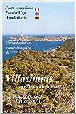 Sardinien Wanderkarte: Villasimius e la Costa sud-est (Südostküste Sardinien, Provinz Cagliari) , topographische Wanderkarte 1:30.000, ABIES
