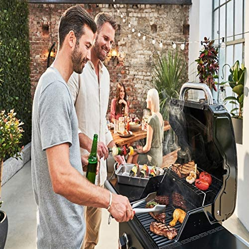 Char-Broil Gas2Coal 210 Barbecue à gaz hybride Noir 140924