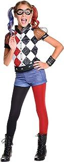 Harley Quinn Deluxe Costume for Kids - Warner Bros DC Super Hero Girls
