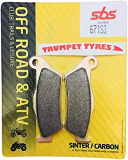 Yamaha YZF-R125 YZF R125 08 09 10 11 12 13 14 15 16 17 18 SBS Performance Rear Off Road Sintered Sinter Brake Pads Set Genuine OE Quality 810SI
