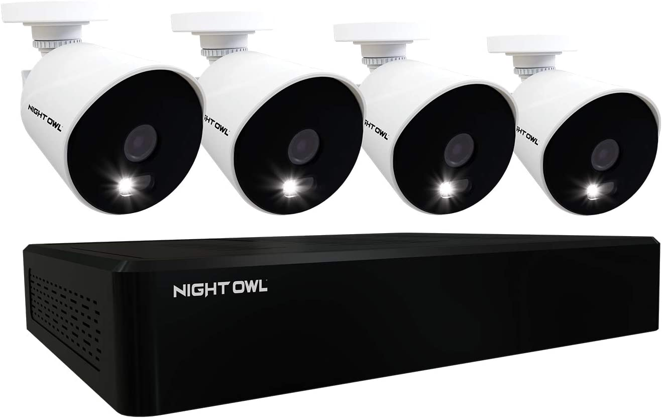 Night Owl CCTV Denver 4 years warranty Mall Video Home Security 4 with Camera System Wired 10