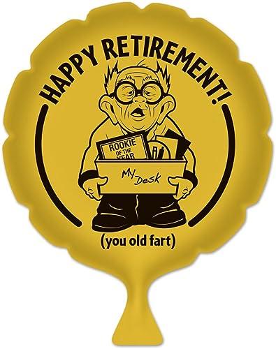 Léopard Décoration de fête Happy RetireHommest Coussin péteur 20,3cm-Lot de 6