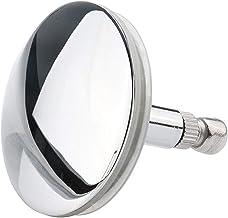 SSB-JIAJUPJ 1 stuk chroom badkuip afvoerset stopper voor badkamer badkuip slager bad drainage zilver (kleur: zilver)