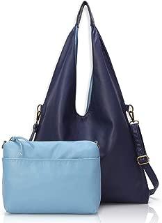 Stylish Reversible Tote Handbags Shoulder Bags Hobo bags Satchel Purses Top Handle Bag for Women Set 2pcs