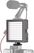 Neewer 3-Way Expandable 64 LED Light Panel USB-Powered Dimmable On-Camera Video Light with Built-in Li-ion Battery and 3 Expansion Joint Interface 5000K for Canon Nikon Sony Olympus DSLR Cameras