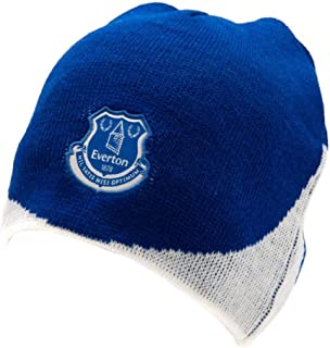 Everton FC Official Adults Unisex Knitted Dome Hat