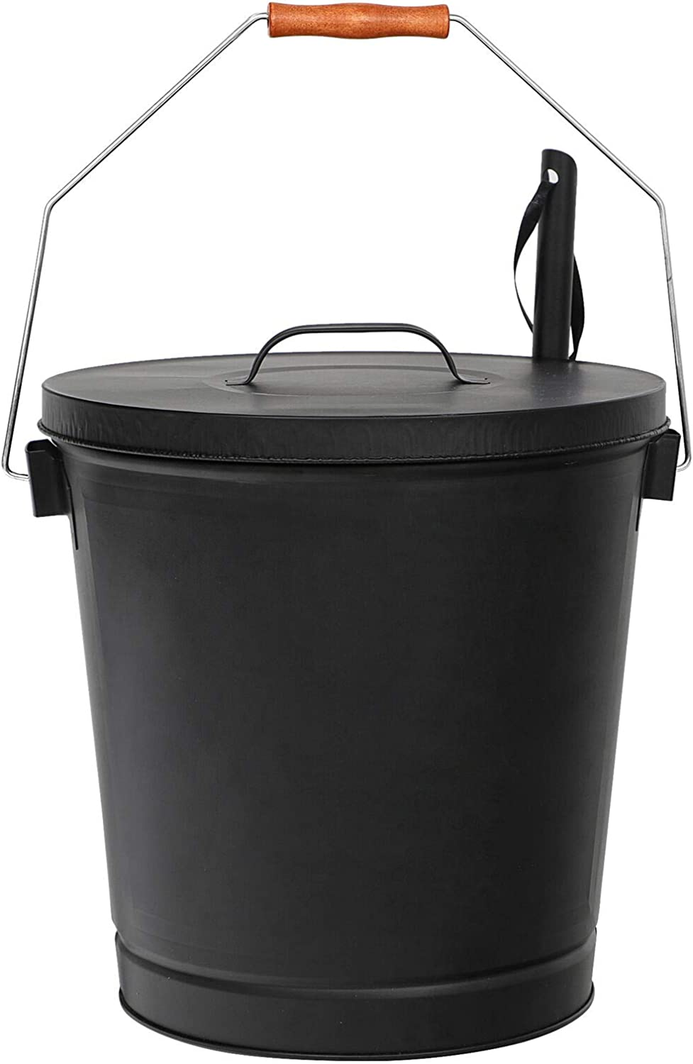 Designed Safely Ash Bucket 5 Gallon Shovel and with Black Lid fo Tucson Mall Super Special SALE held