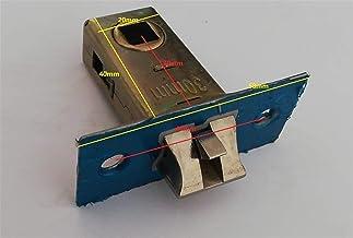 Deurslot Badkamer enkele slot Body Lock Latch Single Tong Lock Case Small Lock Part Duurzaam (Color : Silence latch 30mm)