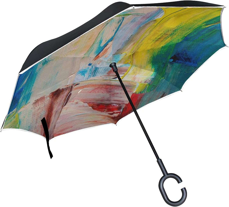 157bcb44f79f Rh Studio Ingreened Umbrella Paint Texture Large Double Outdoor Rain ...