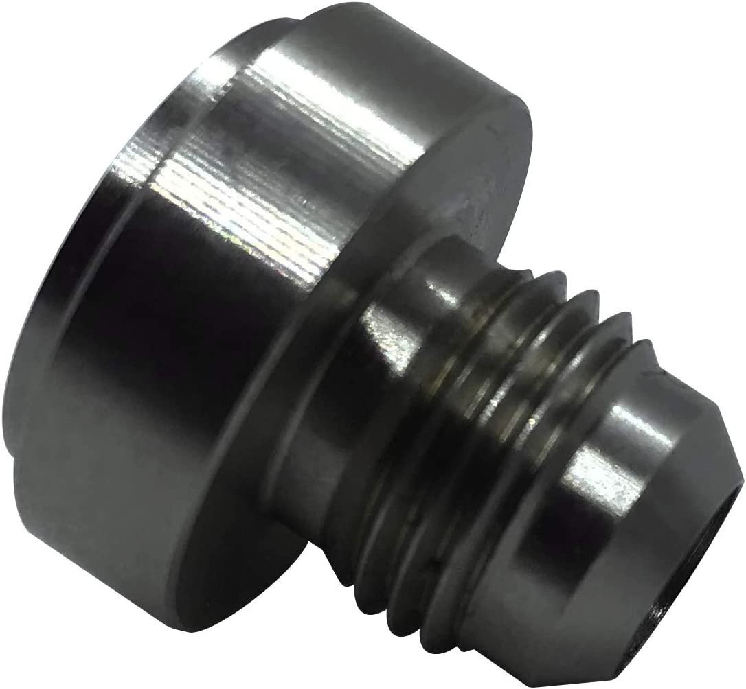 6AN Steel Latest item Weld Bung AN 6 Translated Male Hose Fitting Fuel Flare Tank Stain