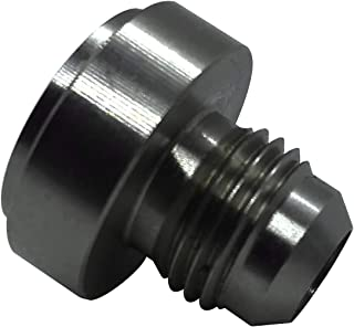 6AN Steel Weld Bung AN 6 Male Flare Hose Fuel Tank Fitting Stainless Steel Weldable with Step