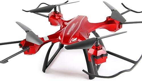 al precio mas bajo BNMZXNN Dron Resistente Resistente Resistente a caídas, vehículo aéreo Profesional de Larga duración, Aviones remotos RC de Cuatro Ejes, helicóptero de Control de Juguete,rojo Fixed Version-OneTalla  entrega gratis