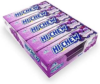 Hi-Chew Stick Grape, 1.76 Ounce (Pack of 10)