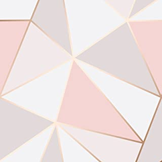 Best pink geometric wallpaper Reviews