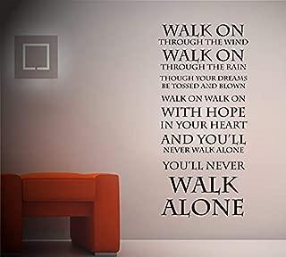 Bro Decals Wall Vinyl Decal The Top You Ll Never Walk Alone Liverpool Fc Vinyl Decor Sticker Home Art Print BR2695