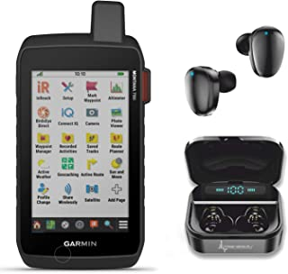 $819 » Garmin Montana 750i Rugged GPS Touchscreen Navigator with 8 Megapixel Camera with Wearable4U Ultimate Black Earbuds with C...