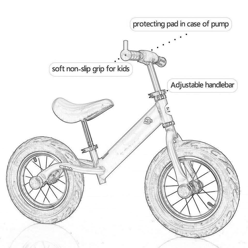 KXBYMX Bicicletas de Equilibrio para niños Bicicleta equilibrada for niños, corredera, Deslizante, for niños Coche equilibrado, Ruedas Dobles, sin Bicicleta for pies Bicicleta de Equilibrio Infantil: Amazon.es: Hogar